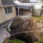 300ft Deep Sinkhole Opens Up In Cornwall